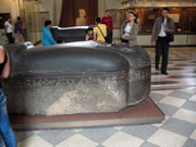 Egyptian sarcophagus in Hermitage