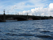Bridge over Neva river