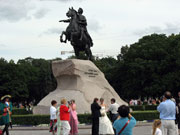 Bronze Horsman (Peter the Great) monument