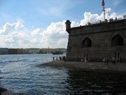 Neva river, the view from the Peter and Paul fortress